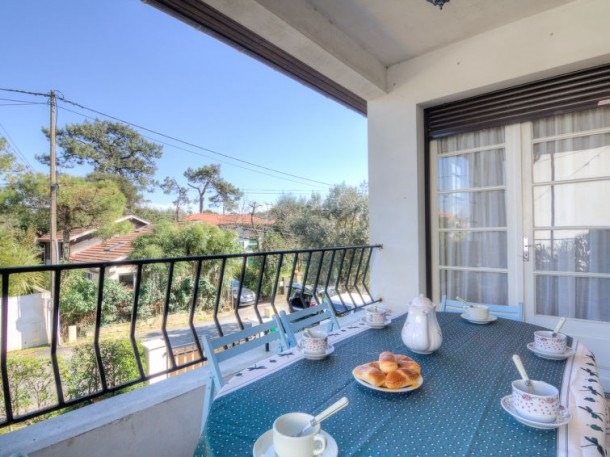 Location vacances Capbreton -  Appartement - 4 personnes - Terrasse - Photo N° 1