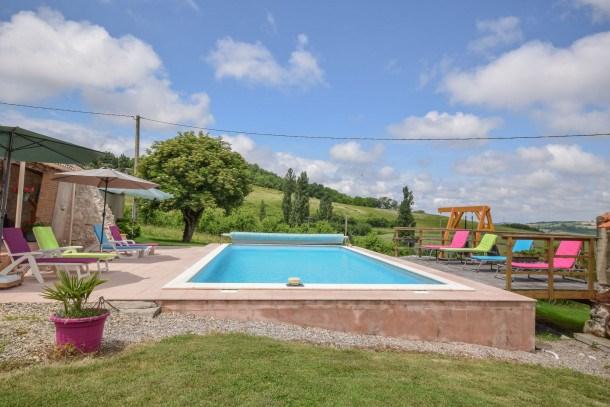 Location vacances Castelmoron-sur-Lot -  Maison - 8 personnes - Barbecue - Photo N° 1