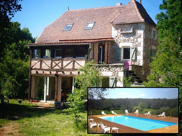 Affitti per le vacanze Marcilhac-sur-Célé - Casa rurale - 10 persone - Barbecue - Foto N° 1
