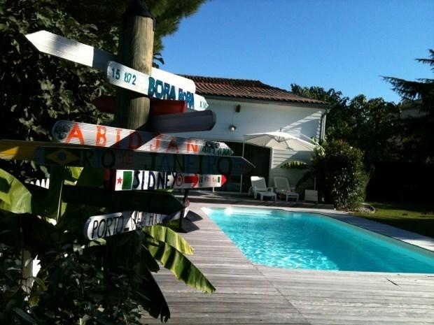 gite proche saint emilion -piscine privée - Moulon