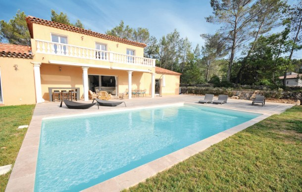 Location vacances Fayence -  Maison - 10 personnes - Barbecue - Photo N° 1