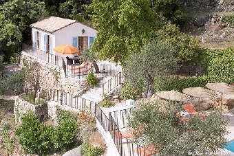 Holiday rentals Grasse - Cottage - 4 persons - Garden - Photo N° 1