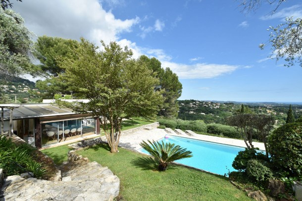 Location vacances Grasse -  Maison - 8 personnes - Barbecue - Photo N° 1