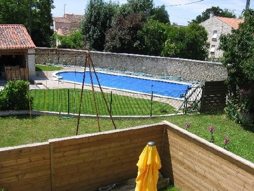 LODGING CALMS IN HAMEAU-AVEC SWIMMING POOL - Saint-Mard