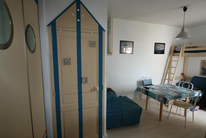 Studio dans immeuble pour 3 personne(s)