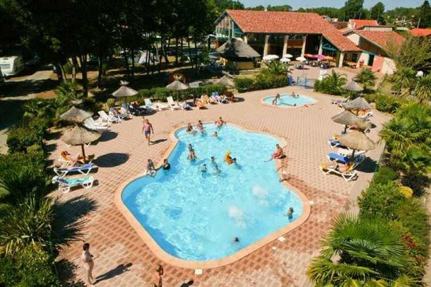 Camping du Lac - Mh Cottage Savanah 2Ch 4/6pers + Terrasse