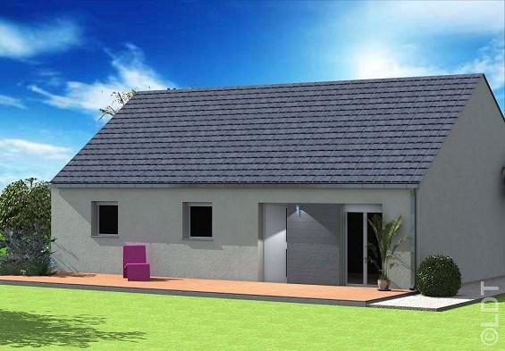 Maison  4 pièces + Terrain 250 m² Bazicourt par L.D.T VERNEUIL EN HALATTE
