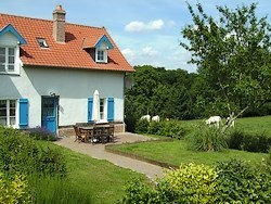 Lodging with the farm in Picardy bay of nap - Mareuil-Caubert