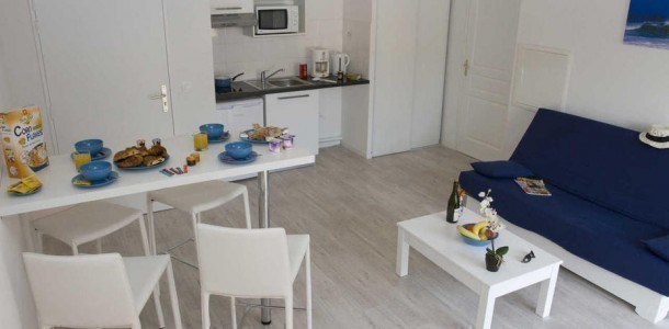 Location vacances Grandcamp-Maisy -  Appartement - 6 personnes - Télévision - Photo N° 1