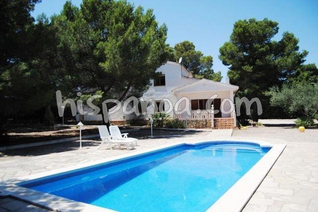 Haus für 12 Pers. mit schwimmbad, l'Ametlla de Mar