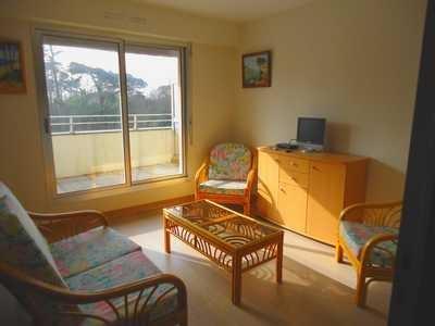 Location vacances Pléneuf-Val-André -  Appartement - 2 personnes - Télévision - Photo N° 1