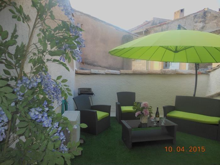 Ferienwohnungen Pézenas - Haus - 9 Personen - Gartenmöbel - Foto Nr. 1