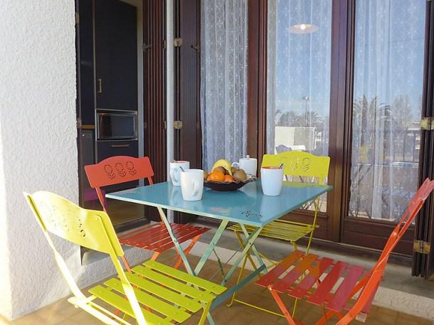 Location vacances Canet-en-Roussillon -  Appartement - 4 personnes - Lecteur DVD - Photo N° 1