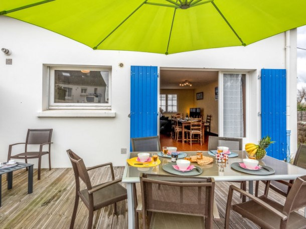 Location vacances Carnac -  Maison - 5 personnes - Barbecue - Photo N° 1