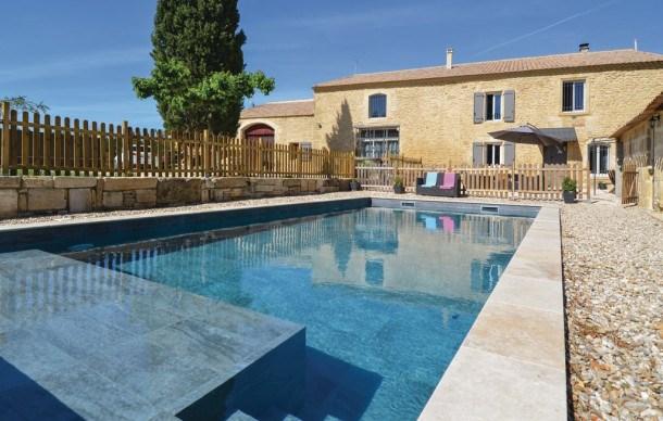 Location vacances Sernhac -  Maison - 12 personnes - Jardin - Photo N° 1