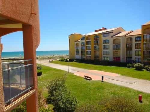 Location vacances Le Barcarès -  Appartement - 4 personnes - Terrasse - Photo N° 1