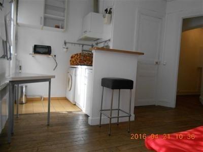 T2, meublé, 1er étage, cour arborée, cuisine équipée - Paris 18ème (75018)-4