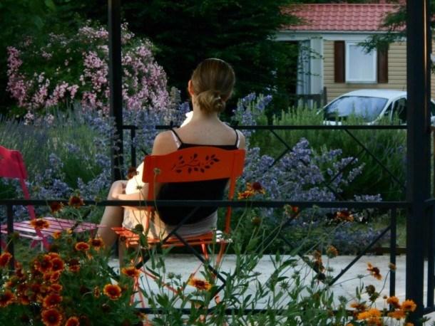 Flower Camping LE TEMPS DE VIVRE - Mobil-home Eco 30m² (2 chambres) avec terrasse extérieure
