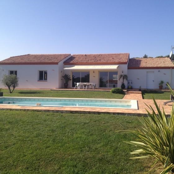 Maison pour 6 pers. avec piscine privée, Roquefort