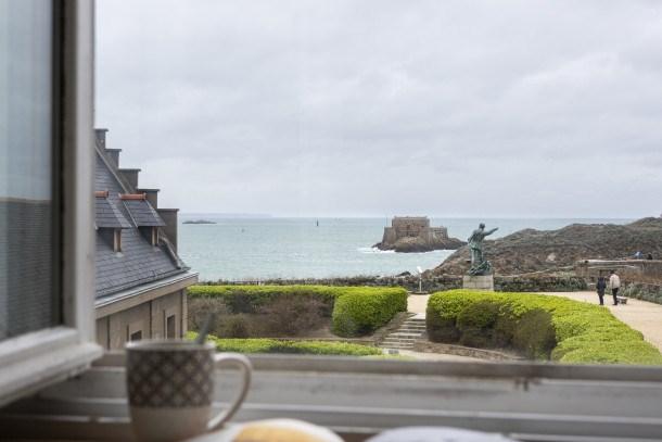 Location vacances Saint-Malo -  Appartement - 4 personnes - Chaîne Hifi - Photo N° 1