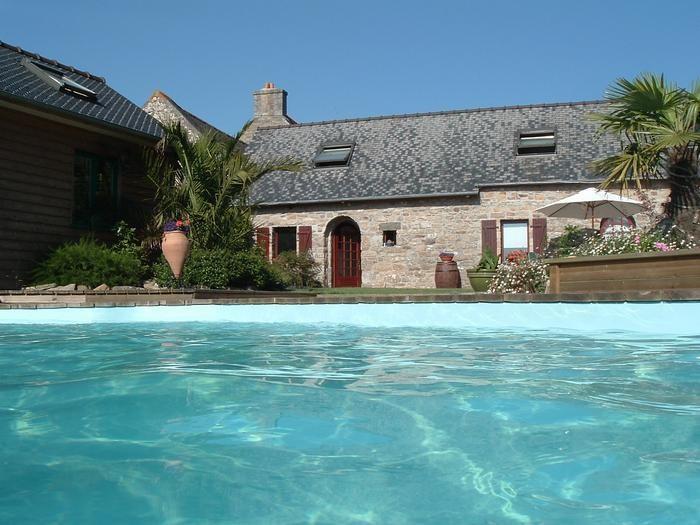 pour 10 pers. avec piscine privée, Tonquédec