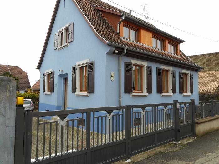 Location vacances Beblenheim -  Maison - 6 personnes - Barbecue - Photo N° 1