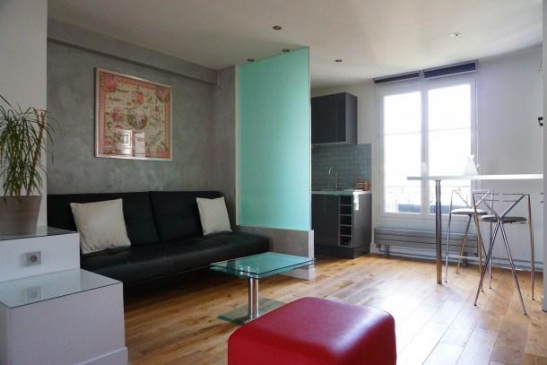 Location vacances Paris 17e Arrondissement -  Appartement - 2 personnes - Télévision - Photo N° 1