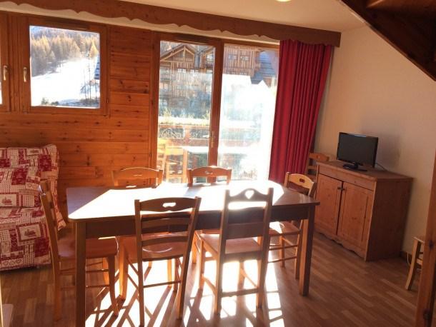 Location vacances Puy-Saint-Vincent -  Appartement - 10 personnes - Télévision - Photo N° 1