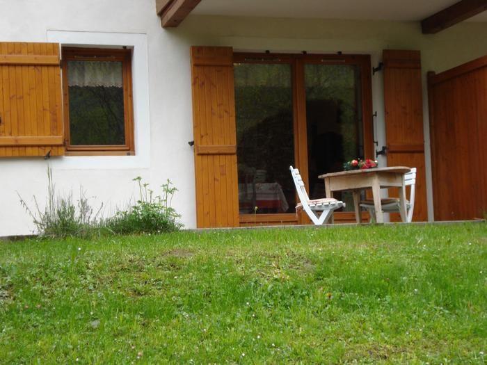 Location vacances Praz-sur-Arly -  Appartement - 4 personnes - Jardin - Photo N° 1