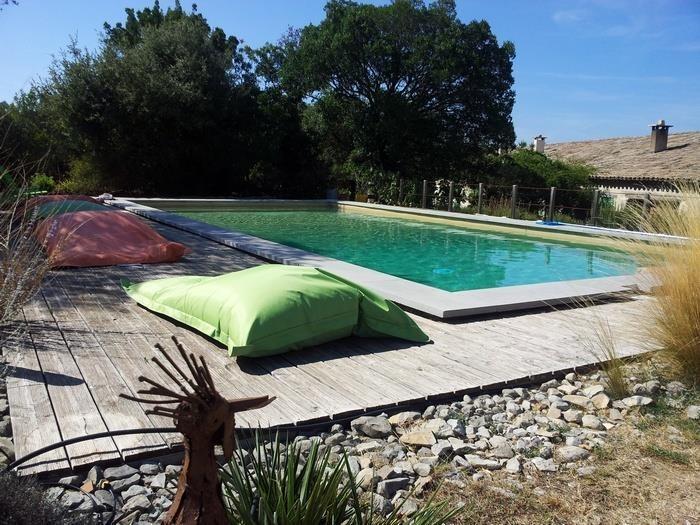 Appartement pour 4 pers. avec piscine, Pompignan