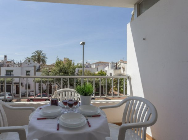 Location vacances Castelló d'Empúries -  Appartement - 3 personnes - Télévision - Photo N° 1