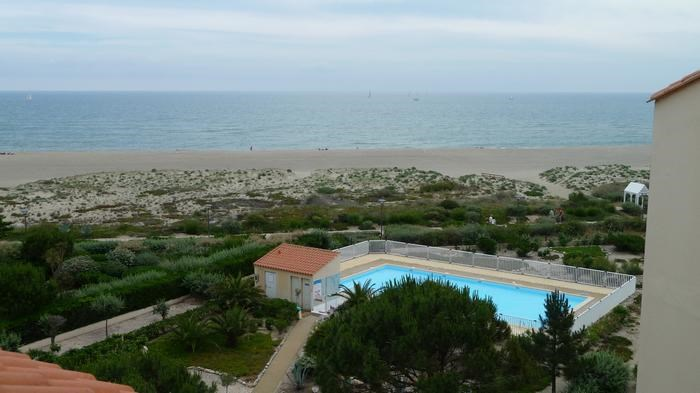 Location vacances Leucate -  Appartement - 7 personnes - Jardin - Photo N° 1