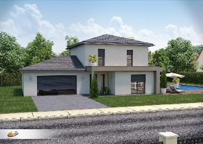 Maison  6 pièces + Terrain 640 m² Tassin la Demi Lune par DEMEURES RHONE ALPES