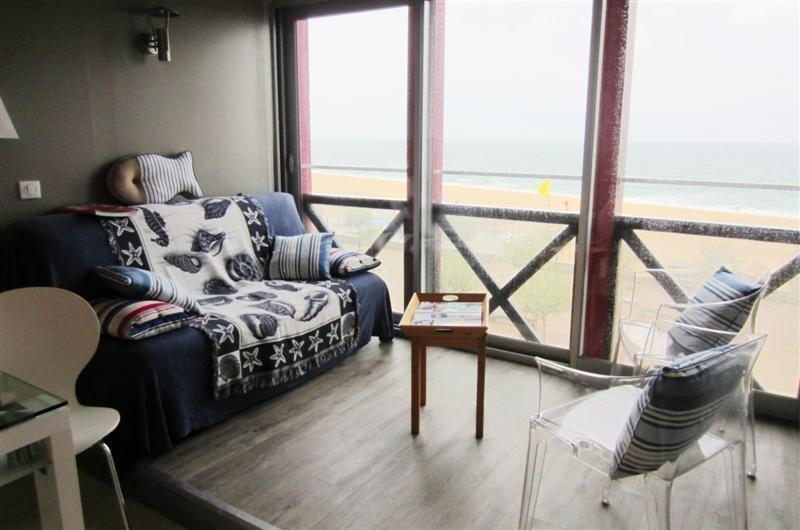 Appartement rés le Point D'Or avec vue sur océan pour 6 personnes