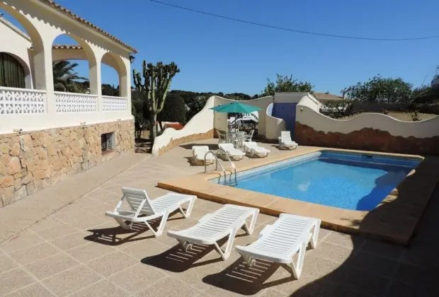 Location vacances Calp -  Maison - 12 personnes - Barbecue - Photo N° 1