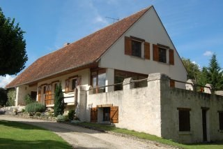 Large House in landscape park close to Chambord - Mer