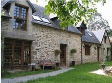 facade ouest du cottage...17 metres de longue