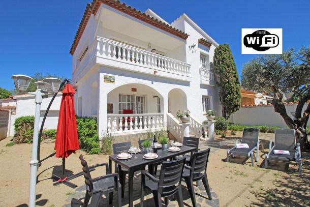 Location vacances Castelló d'Empúries -  Maison - 6 personnes - Jardin - Photo N° 1