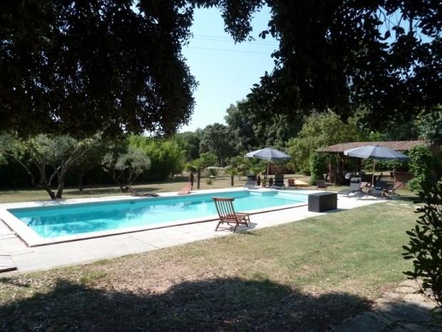 Gîte de charme de 95 m² climatisé avec piscine chauffée d'avril à octobre - Assas