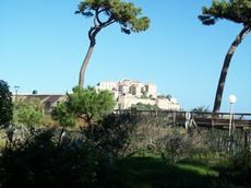 la citadelle vue du jardin