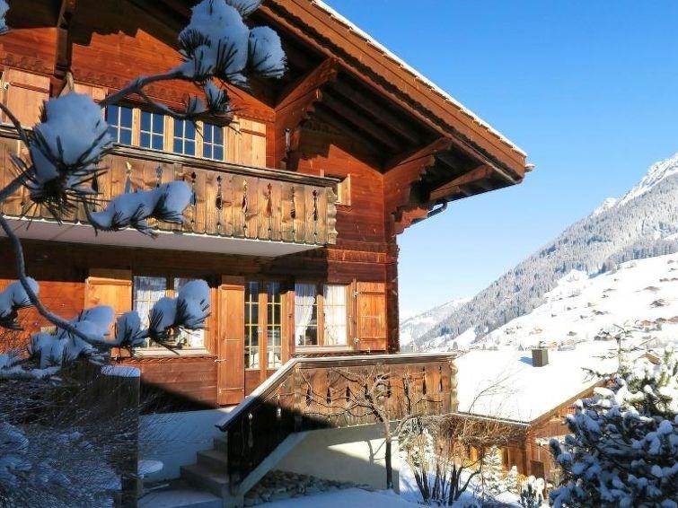 Appartement pour 4 à Lauenen b. Gstaad