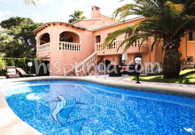 Jolie villa sur la Costa Blanca en location à Denia avec piscine privée |ds024