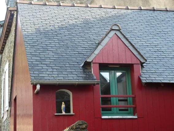 Maison de pêcheur sur le port de la Houle à Cancale