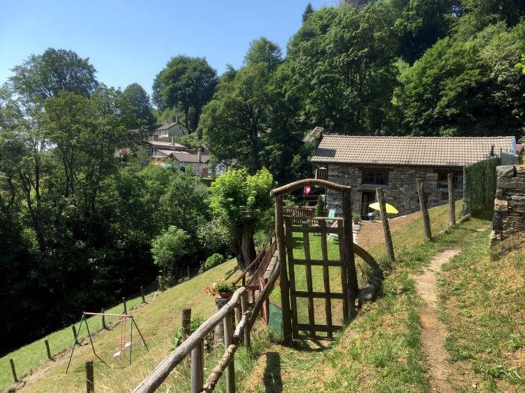 Maison pour 3 personnes à Ronco sopra Ascona