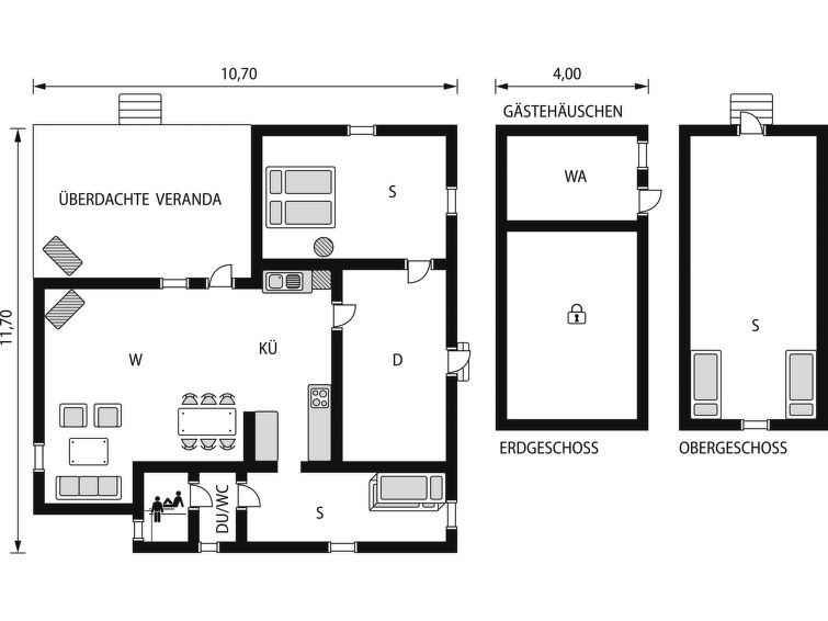 Maison pour 6 à Tidaholm