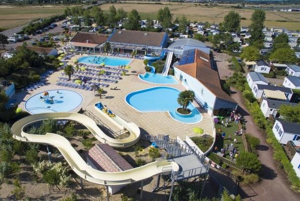 Camping Les Blancs Chênes - Mh Quartier Famille 3Ch 7pers ( -5 ans) + Terrasse Couverte