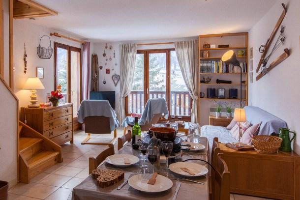 Location vacances Le Monêtier-les-Bains -  Appartement - 8 personnes - Télévision - Photo N° 1