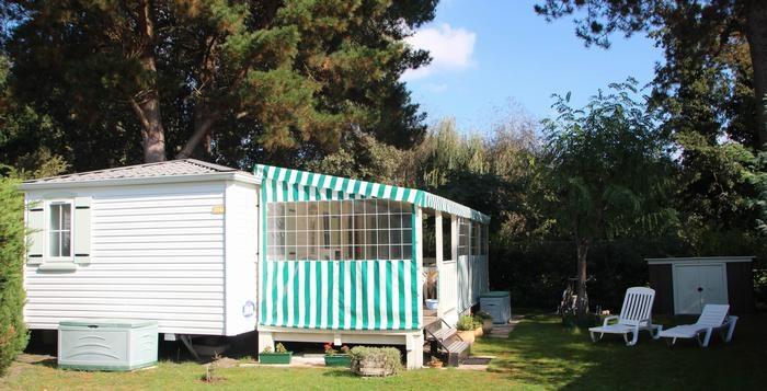 Mobil-home dans camping pour 4 personne(s