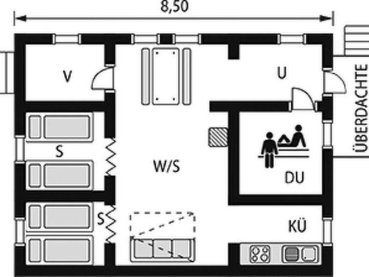 Maison pour 5 à Leppävirta