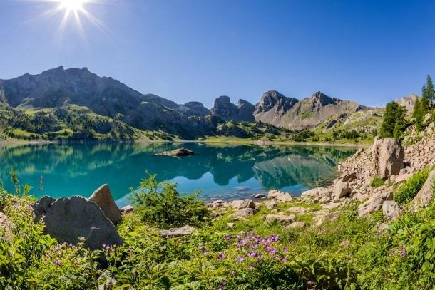 Résidence Les Cimes du Val d' Allos - Coin montagne